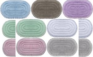 Details zu Badematte Badezimmergarnitur Set Baumwolle 100% Badteppiche  Duschvorleger