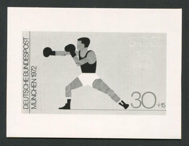 BRD FOTO-ESSAY OLYMPIA 1972 BOXEN OLYMPICS BOXING PHOTO-ESSAY PROOF e222