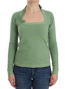 Novità lunga manica 400 Ermanno 8032990567951 misto L Scervino It46 maglia us righe verde lana a qqHx8rwd
