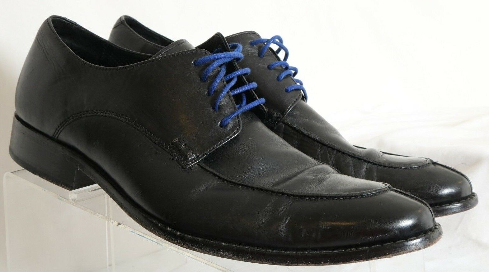 Cole Haan Air Colton Black Split Toe Lace-Up Casual Oxford C08188 Men's 11 M
