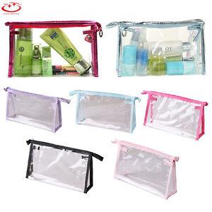 1Pcs-Cosmetic-Transparent-Pencil-Case-Plastic-Travel-Make-Up-Toiletry-Bag-Zipper