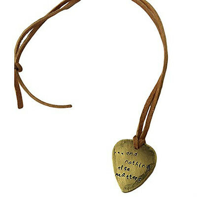 Heart Antique Distressed Copper Guitar Pick Hand And Nothing Else Matters