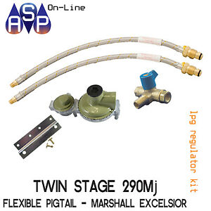 LPG-BOTTLE-REGULATOR-KIT-TWO-STAGE-290MJ-SUIT-CARAVAN-AND-HOME-USE-MARSHALL