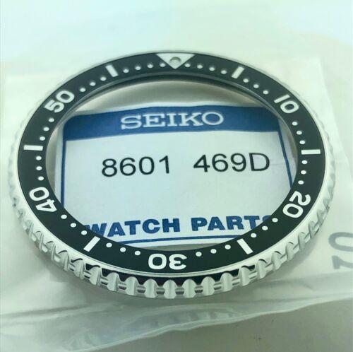 PART #8601469D FACTORY FRESH SKX173 BLACK STAINLESS STEEL BEZEL SEIKO GENUINE