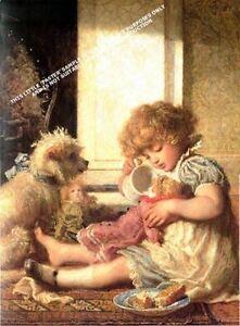 Say Please By Carl Wilhelm Bauerle Artwork by Selby Prints