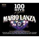 100 Hits Legends: Mario Lanza by Mario Lanza (Actor/Singer) (CD, Jul-2010, 5 Discs, 100 Hits)