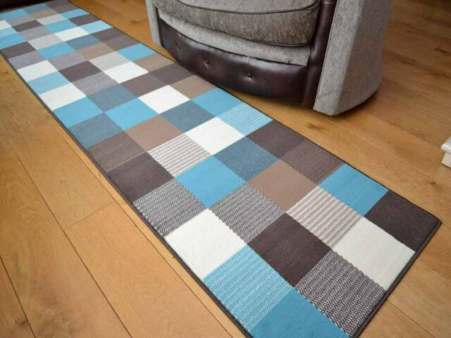 Teal Blue Small Extra Large Squares Floor Carpets Rugs Mats Long Runners Cheap