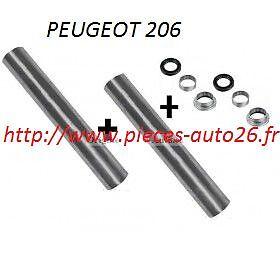 2 axes de bras Train Arrière Essence 2 Kit roulement Peugeot 206 Diesel
