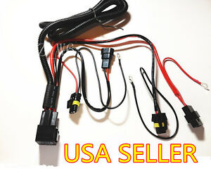 s l300 xenon hid conversion kit relay wiring harness h1 h8 h9 h11 9005  at gsmx.co