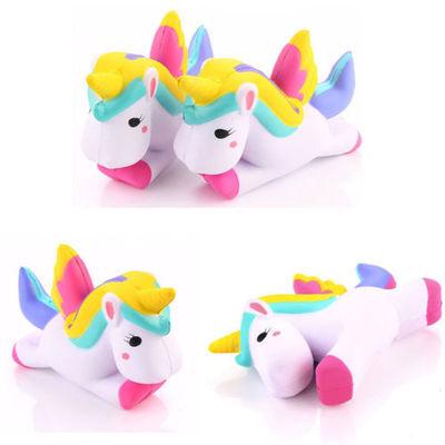"4.5"" Jumbo Slow Rising Squishies Unicorn Kawaii Scented Soft Squishy Charms BK"