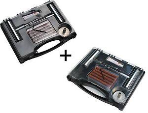 2x Reifenreperaturset Flickzeug Set Reifen-Reparatur-Satz Flicken Auto Pannenset