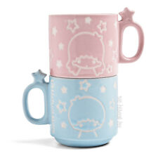 NIB LOOT CRATE SANRIO SMALL GIFT EXCLUSIVE LITTLE TWIN STARS STACKABLE MUGS SET