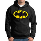 Mens Batman Superman New Fleece Hoodies Sweats Pullover Tops Solid Color AU Size