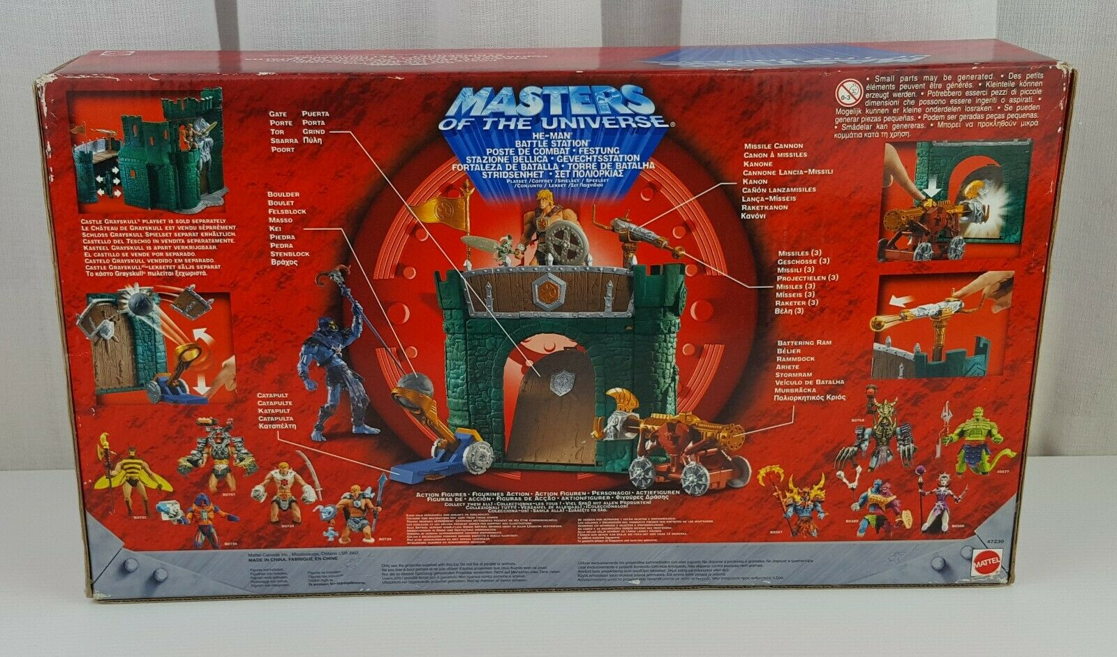 MASTER MASTER MASTER OF THE UNIVERSE HE-MAN BATTLE STATION