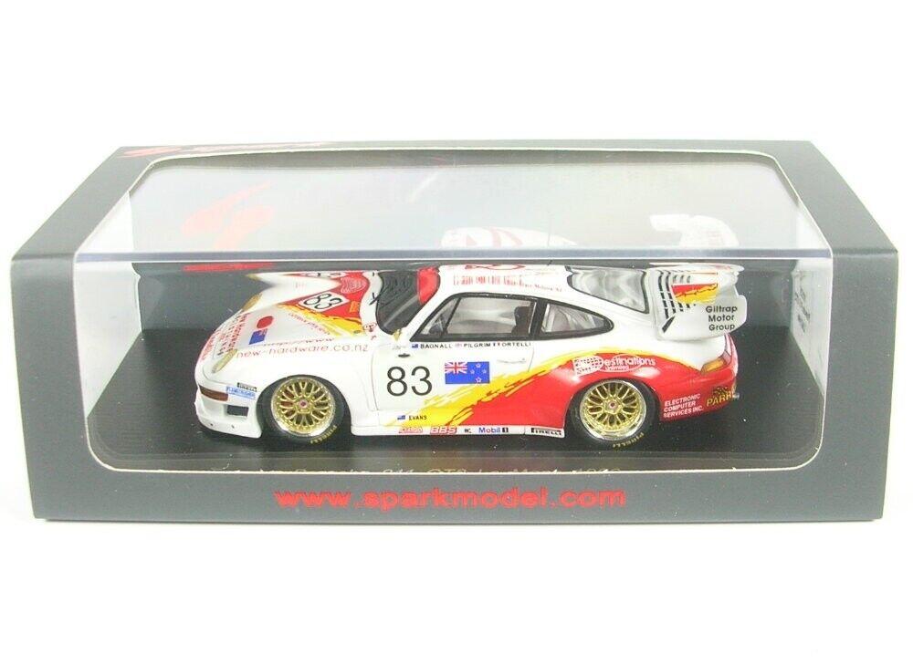 PORSCHE 911 gt2 n. 83 LEMANS 1996 (S. Ortelli-A. Pilgrim-A. Bagnall)