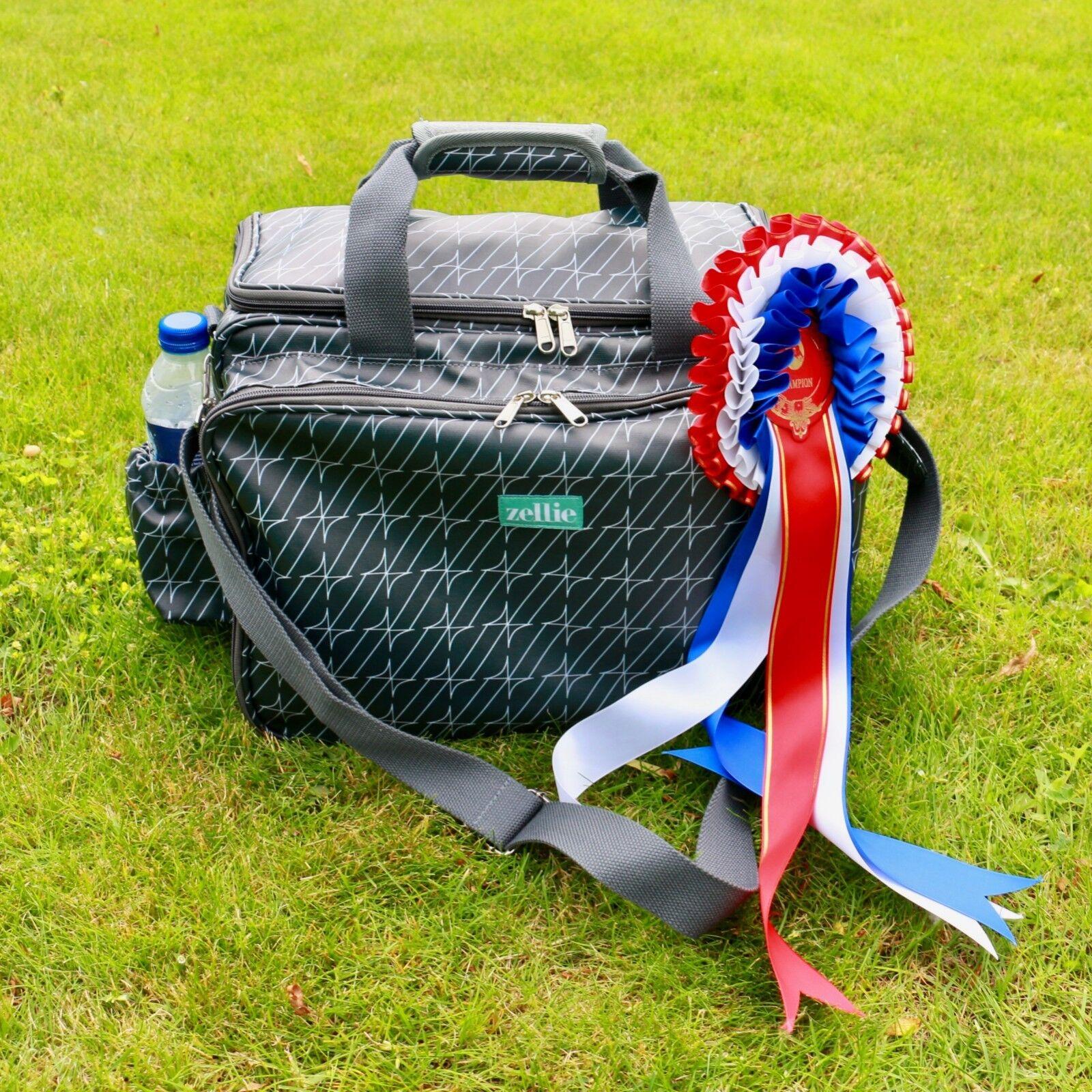 De Lujo Equine Grooming Kit de bolsa con correa para hombro ajustable-Diseño de Hamilton