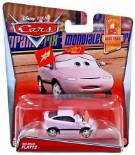 Disney Pixar World Of Cars Wilmar Flattz Race Fans Series 1:55 Diecast