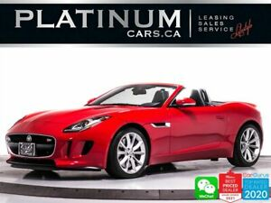 2014 Jaguar F-Type S, 380HP, RWD, SUPERCHARGED, KEYLESS ENTRY