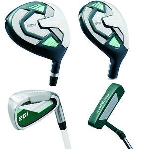 Linkshand-Damen-Wilson-ProStaff-HDX-Golf-Komplettset-Golfset-Holz-Hybrid-Eisen