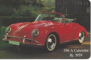Image Is Loading Porsche 356 Cabriolet 1959 Phone Card O178 92