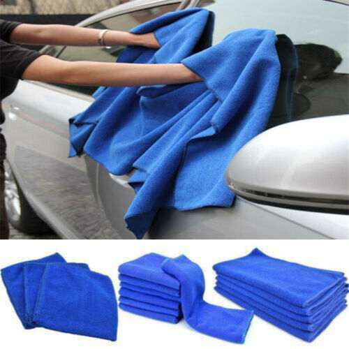 Towel Super Absorbent Car Wash Microfiber Drying Cloth Auto Cleaning Hemming