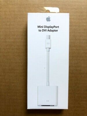 GENUINE Apple Mini DisplayPort to DVI Adapter White MB570LL//B A1305