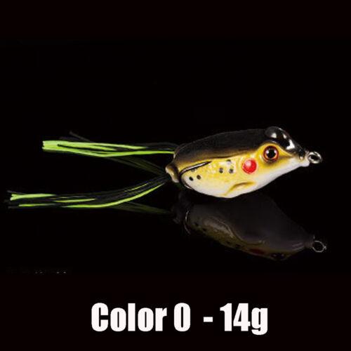 5PCS Fishing  Baits Hook soft Replica Fish Lure T tail 9cm//14g