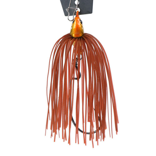 1pc 11g Chatterbait Blade Bait with Rubber Skirt buzzbait Fishing Lures TacklJIC