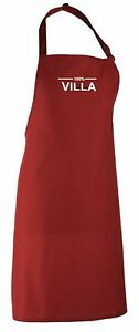 100% Aston Villa Fan Apron All Colours Available