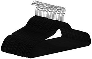Utopia Home UH0097 Velvet Suit Hanger, Black - 30 Pack