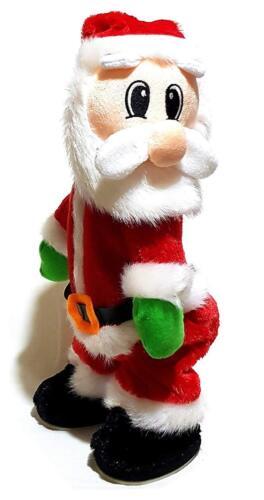 Twerking Santa Claus Dance Musik Weihnachtsdekoration Weihnachtsmann Deko 35cm