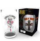 Guns N Roses 500ml Large Glass With UK