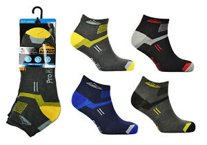 6-amp-12-Pairs-Mens-Trainer-Liners-Sports-Socks-Size-6-11-By-ProHike