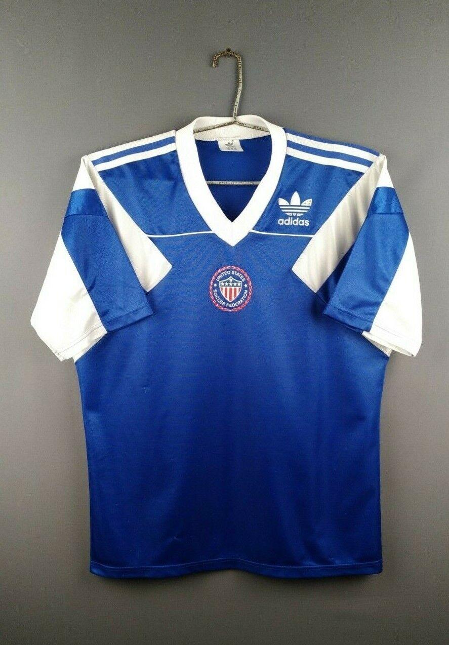 4.55 USA jersey Medium 1990 1992 away shirt soccer footbtutti Adidas ig93