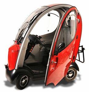 Elektromobil-Fehmarn-Scooter-Kabinenfahrzeug