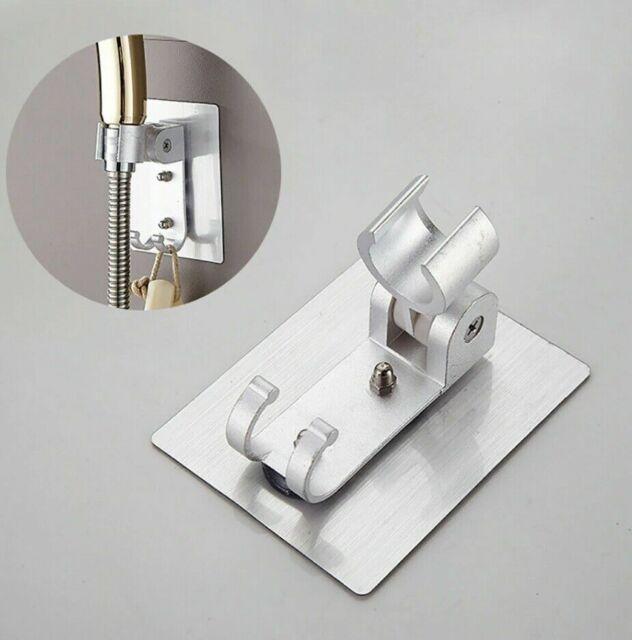 Bathroom Hand Held Shower Head Holder Bracket Wall Hook Adjustable Mount D Prof