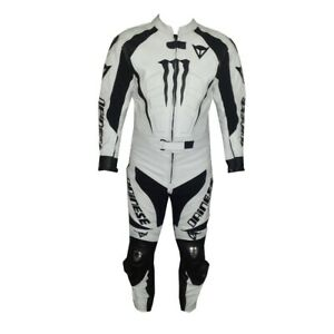 DAINESE-BLACK-AND-WHITE-COWHIDE-LEATHER-MOTORBIKE-CE-ARMOURED-2-PIECE-SUIT