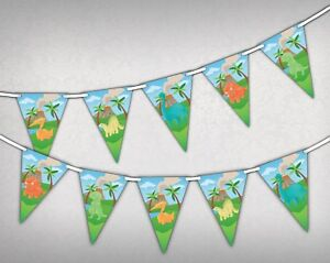 Cute-Dino-Bunting-Banner-15-flags-Jurassic-Dinosaurs-in-Colours-by-Party-Decor
