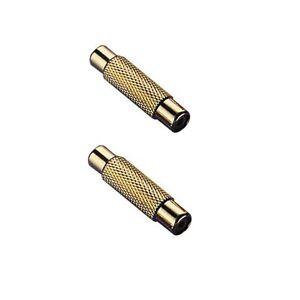 Cinch-Adapter-Buchse-Buchse-1-Paar-2-Stuck