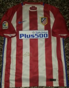 Fernando Torres Signed shirt Atletico de Madrid Griezmann No match worn proof Fußball-Artikel