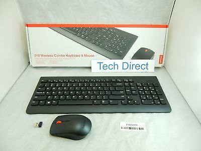 lenovo 510 wireless combo keyboard mouse set gx30n81775 191545242878 ebay. Black Bedroom Furniture Sets. Home Design Ideas