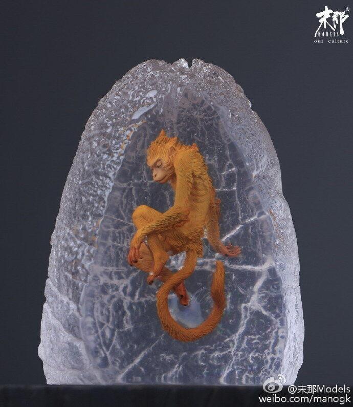 Stone Fetus Monkey resin garage kit takeya takayuki manogk
