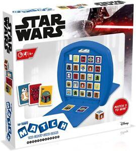 Top Trumps Match - Star Wars - Ratespiel Charaktere rate ab 4 Jahren Reisespiel