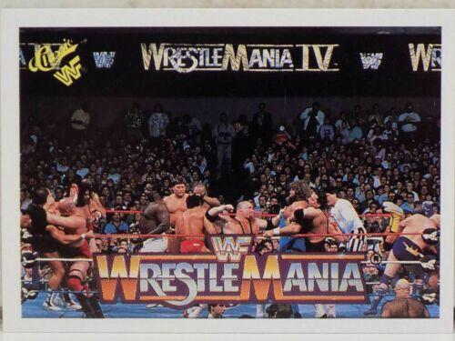 WWF classica storia di WRESTLEMANIA 1990 carte collezionabili Wrestling Hasbro WWE WCW