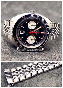 Beads of Rice Bracelet + Endlinks for Heuer Autavia 1163 MH Viceroy GMT Chrono