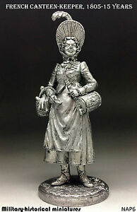 Details about French Sutler Girl  Tin toy soldier 54 mm, figurine, metal  sculpture
