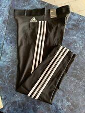 compensación estático Todo el mundo  Adidas ESS 3S BS4820 Black Womens Tights Classics Pants Size Womens Large  Only | eBay