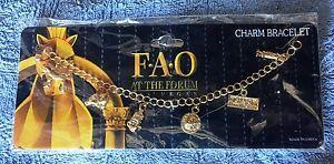 Details about FAO Schwarz Charm Bracelet Forum Shops Caesars Palace Las  Vegas
