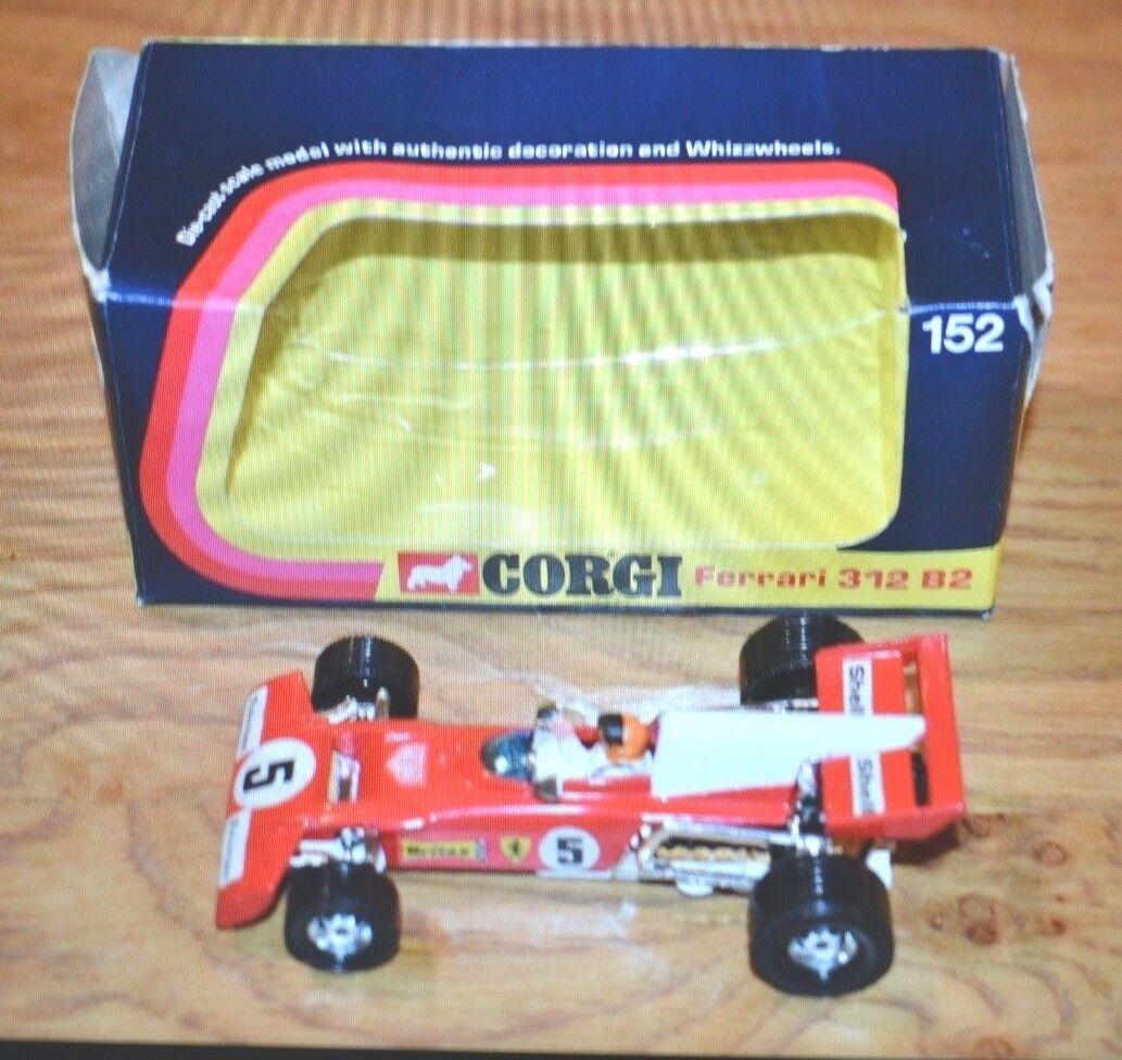Corgi No  152 Ferrari 312 B2 Formula 1 Car - Original 1973 Boxed