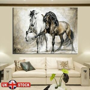Horse-Abstract-Canvas-Wall-Art-Painting-Pictures-Home-Hanging-Picture-Decor-Hot